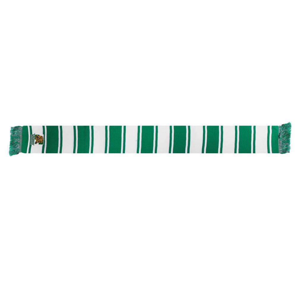 Szalik biało - zielony Włókniarz