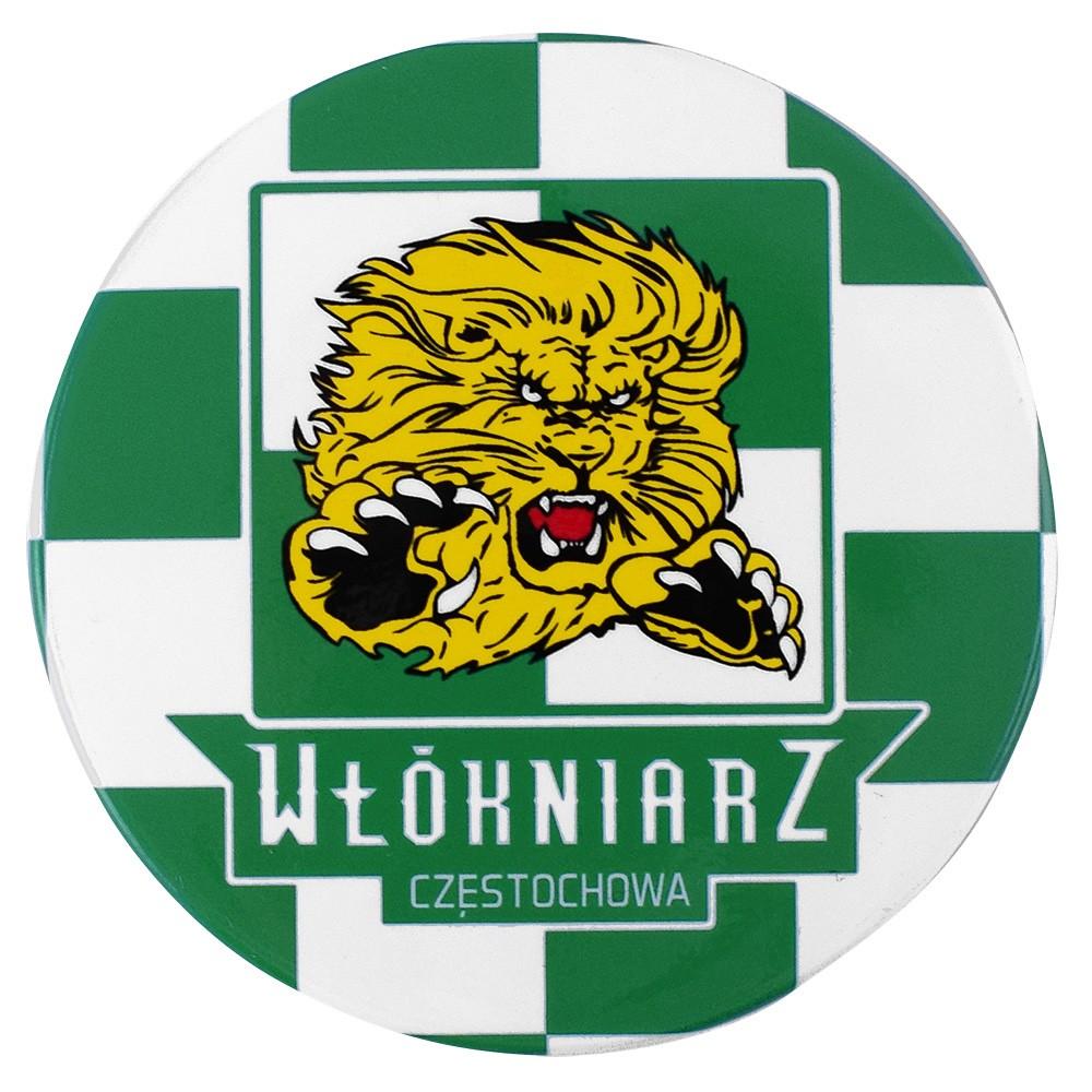 Przypinka z logo