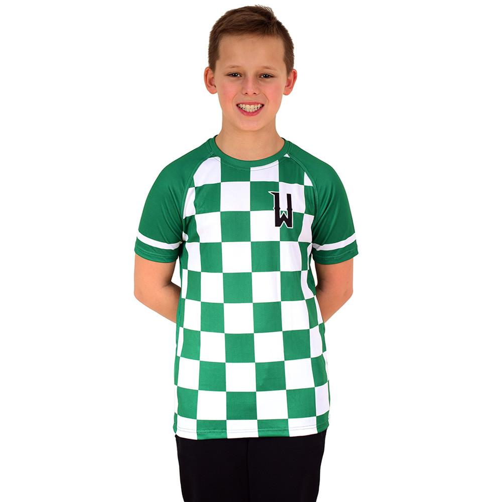 Koszulka dziecięca krata