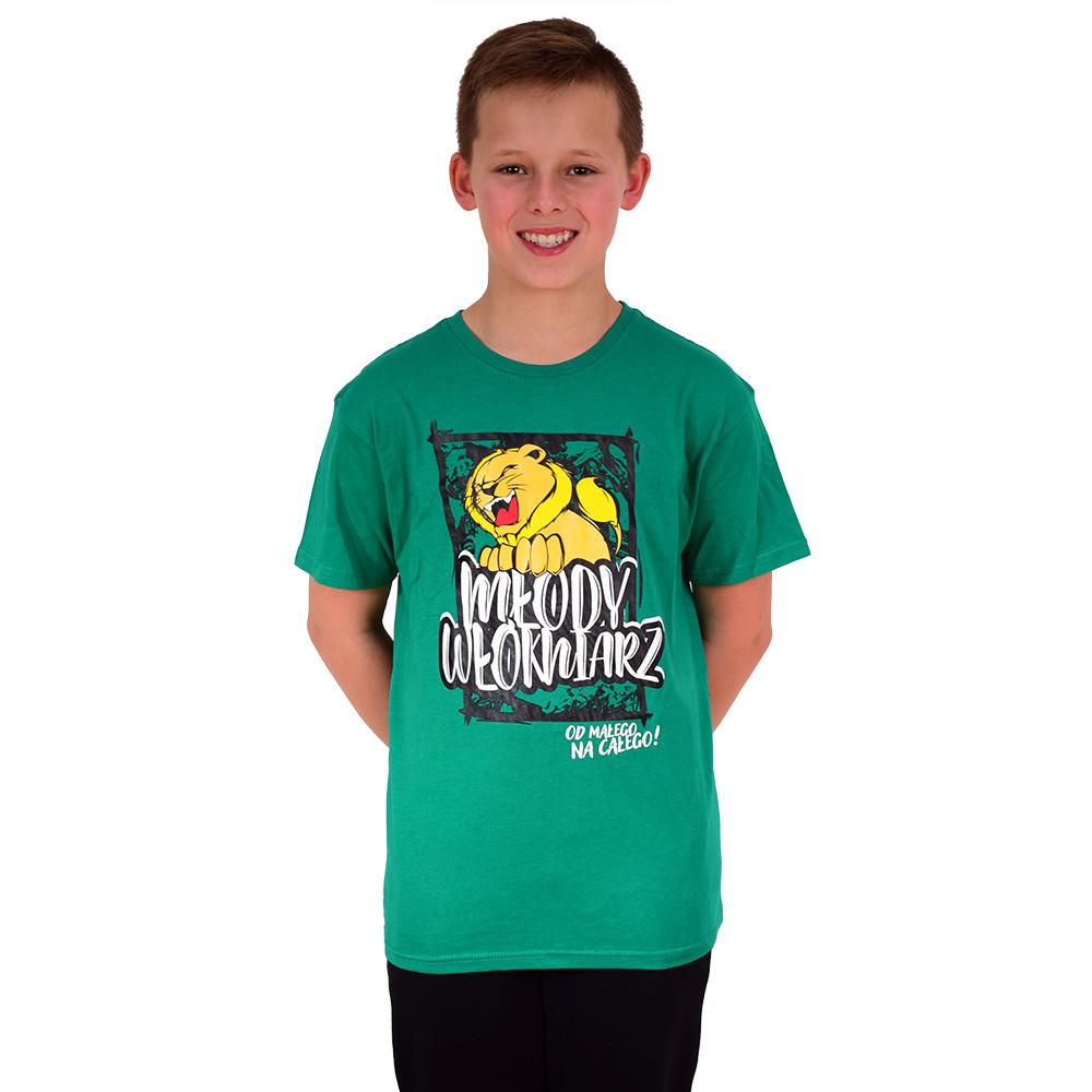 Koszulka Młody Włókniarz zielona