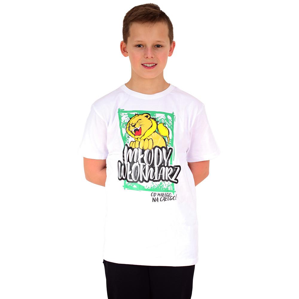 Koszulka Młody Włókniarz biała